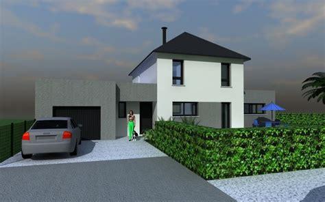 Prix D Un Garage 485 by Maison Garage Toit Plat Bl06 Jornalagora