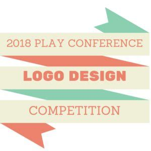 design logo competition 2017 2018 play conference logo design competition announced