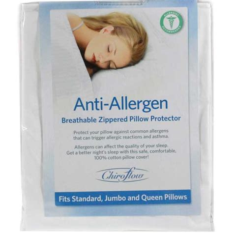 Allergy Free Pillow Covers by Chiroflow Chiroflow Anti Allergen Cover Ebay
