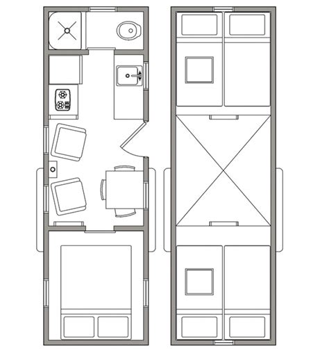 tiny house open floor plan open trail homes tiny house design