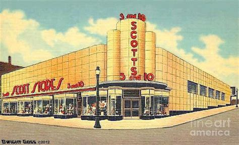5 and dime store scott s five and dime store in akron oh around 1940