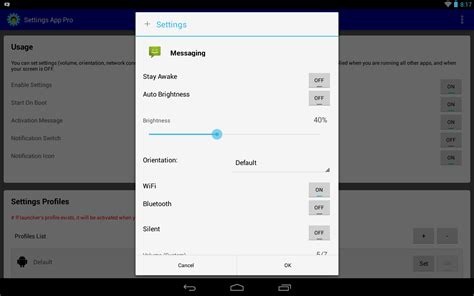 default app manager pro apk settings app pro autosetting android apps on play