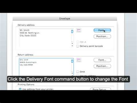 print envelopes from address book mac tricks and tips printing labels and envelopes in mac address book doovi