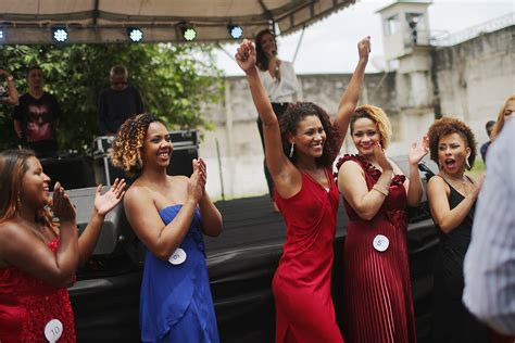 Beauty Sweepstakes - brazil beauty pageant for inmates at a rio de janeiro maximum security prison for women
