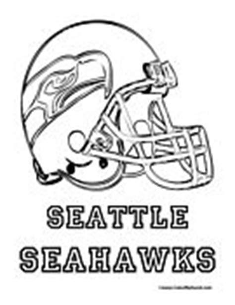 nfl coloring pages seahawks 1000 images about football on pinterest seattle