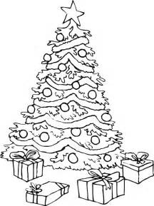 coloring pictures christmas trees az coloring pages