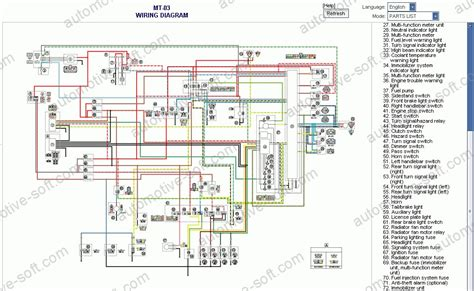 electrical wiring diagram 2007 yamaha fz6 electrical