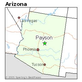 map of payson arizona best places to live in payson arizona