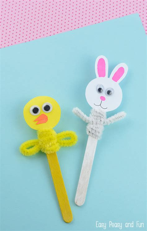 easter projects easter craft stick puppets craft sticks so cute and