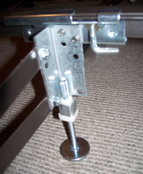 bed support legs big lift full or queen size center support