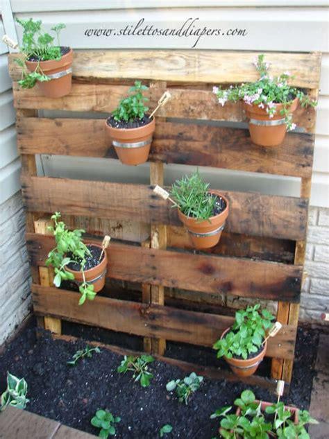 pallet herb garden stilettos diapers