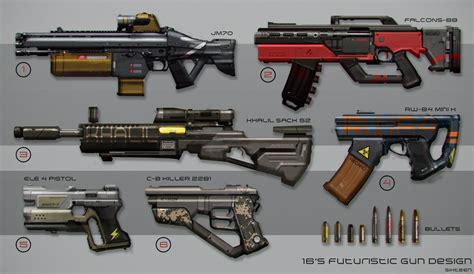 gun designs sci fi gun design by metaphor9 on deviantart