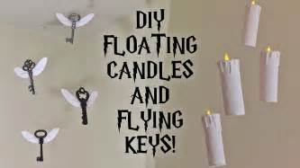 harry potter dekoration diy harry potter floating candles and flying room