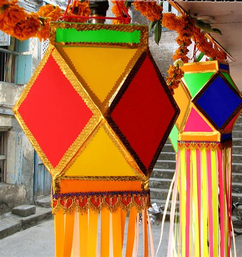 How To Make Diwali Paper Lanterns - about surat surat image in surat surat city in diwali