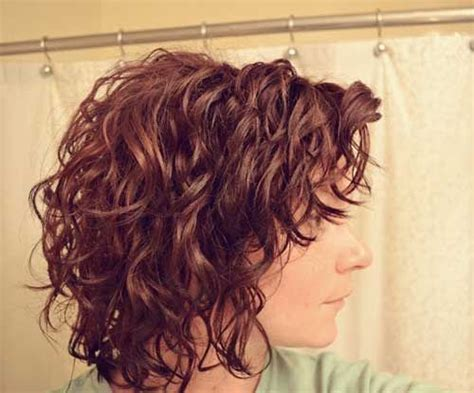 short hair layered and curls up in back what to do with the sides 25 short haircuts for curly wavy hair short hairstyles