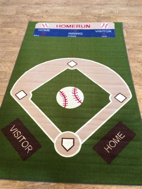 baseball rug baseball field rug wedding