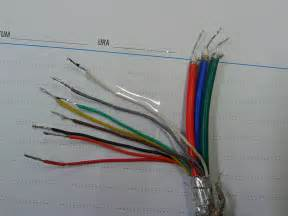 av cable colors soldering a vga cable number of wires doesn t match