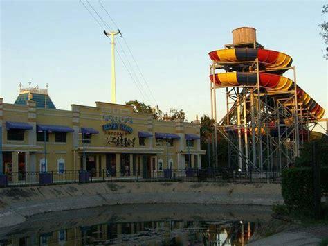 theme park houston sixflags astroworld in houston tx abandoned destroyed