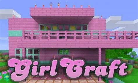 minecraft girl houses the girlcraft texture pack for minecraft gives you tons of girly and pink themed minecraft items