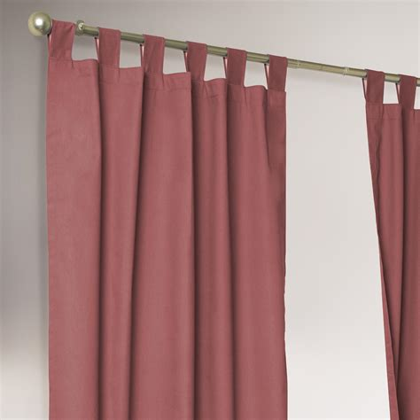 weathermate curtains thermalogic 174 terracotta weathermate curtains set of 2