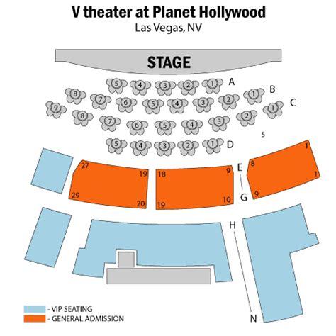 v theater seating chart b beatleshow tribute january 14 tickets las vegas v