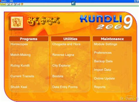kundli software free download full version brothersoft applications kundali 2009