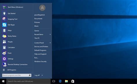 Windows 7 Starter Guide how to make windows 10 look and act more like windows 7