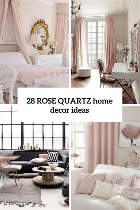 rose home decor pantone s 2016 color 28 rose quartz home d 233 cor ideas