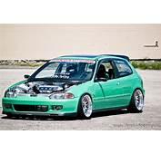 Honda Civic Eg Midori Green Ccw Classic 6  Rides &amp Styling