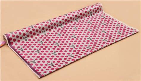 Canvas Laminating Polka Sedang light grey echino samber canvas laminate fabric stag with polka dots from japan laminates