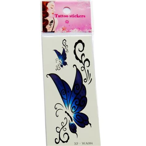 temporary tattoo app 2017 new 1pc waterproof temporary tattoos 3d butterfly