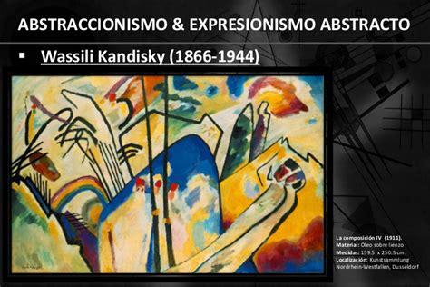 imagenes abstractas con autor abstraccionismo y expresionismo abstracto