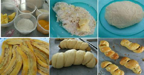 membuat roti manis empuk resep membuat roti manis isi pisang empuk enak dan bikin