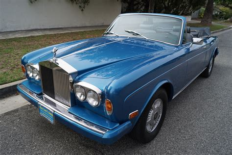 roll royce leather 1980 rolls royce corniche connolly leather stock 336 for