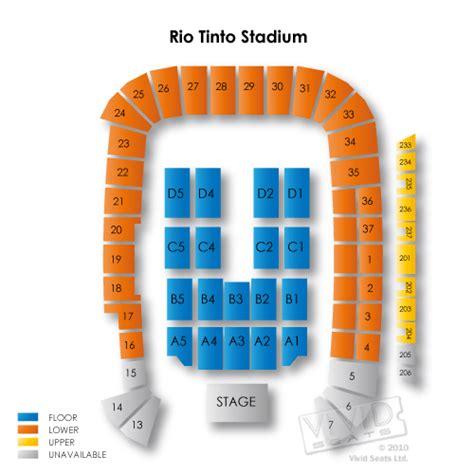 rsl stadium seating tinto stadium seating chart seats