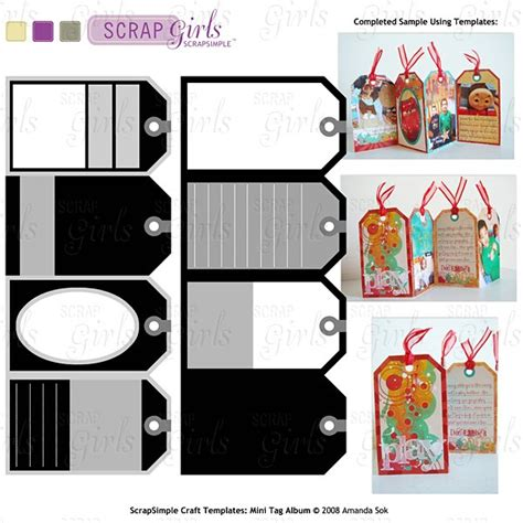 the crafter mini card template diy cards and crafts