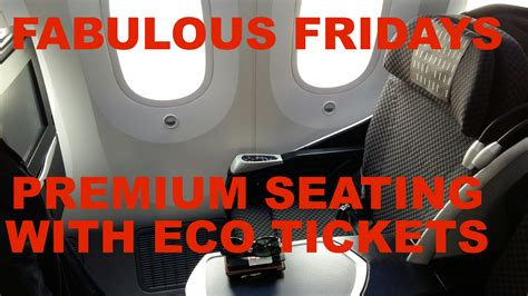 fabulous fridays small business class cabin sections for fabulous fridays business class seating with economy
