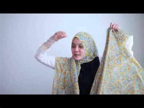Pasmina Instan Ayesha fancy niqab tutorial doovi