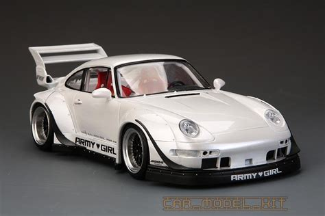 porsche widebody rwb rwb porsche 993 widebody kit for ver quot army quot hobby