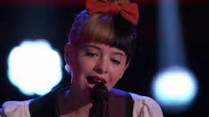 The Voice Blind Auditions Youtube Melanie Martinez Toxic The Voice Usa S3 Blind Auditions
