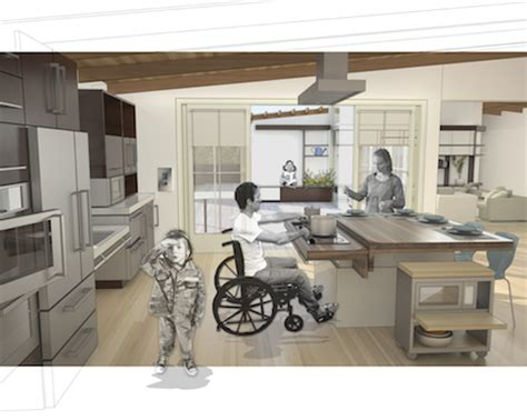 Disabled Kitchen Design Architecture For Recovery Ideo And Michael Design