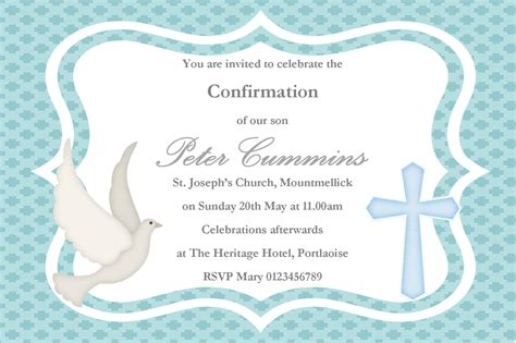 confirmation invitations templates free personalised confirmation invitations design 2
