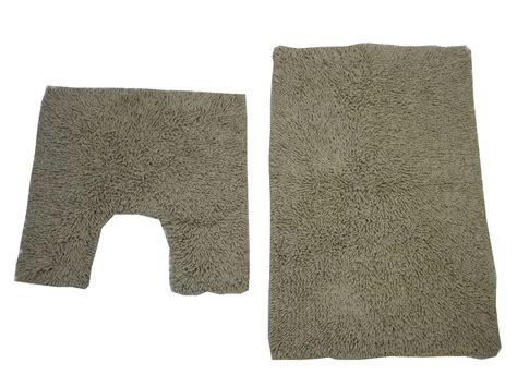 bath mat pedestal toilet rug set 100 cotton washable - Yellow Pedestal Mat