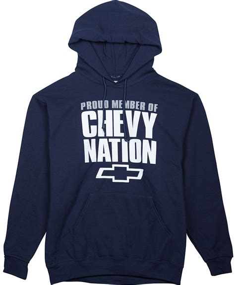 Hoodie Chevrolet Logo Exclusive H01 Navy chevy hoodie chevymall