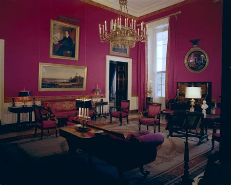 red room white house rooms vermeil room state dining room red