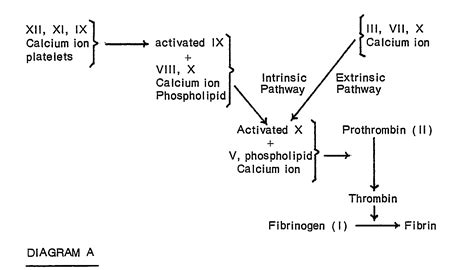 blood clotting mechanism diagram patent ep0014039b1 a method involving a one stage