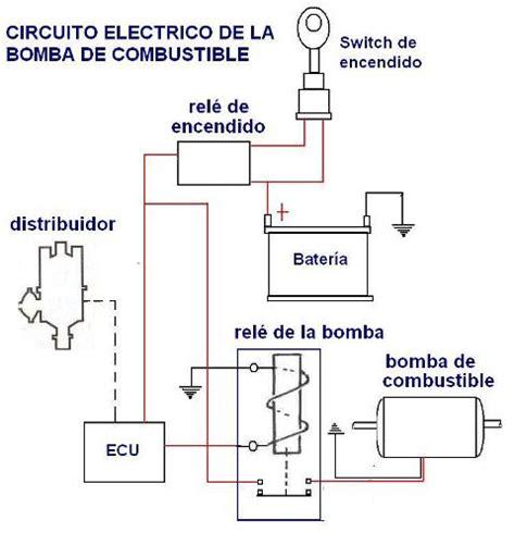 inyeccion electronica gasolina el circuito electrico de la bomba de combustible