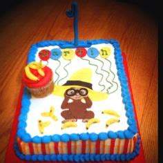 curious george cake template curious george sheet cake by jillee s goodees jillee s