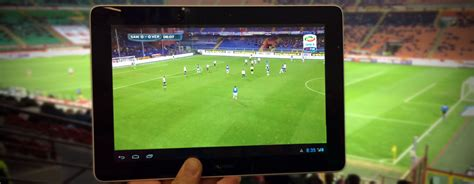 calcio diretta sul mobile a san siro per provare lte broadcast con tre partite in