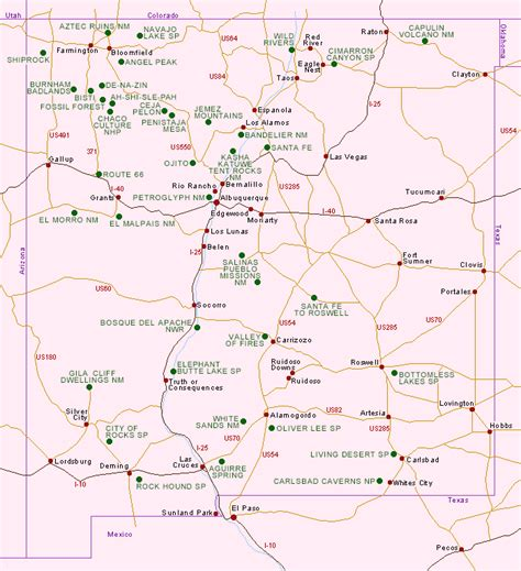 maps of new mexico maps update 500592 new mexico travel map maps update
